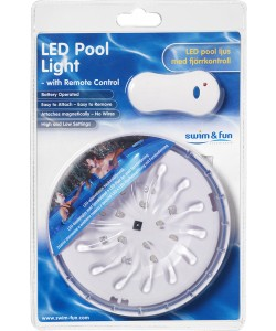 LED pool light lampe med magnet-20