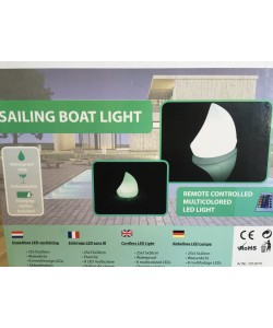 Sailing Boat Pool Light 25 cm-20