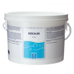 Descaler, kalkfjerner til spa og bad - 2,5 kg