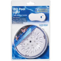 LED pool light lampe med magnet