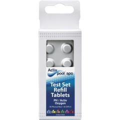 Test Set Refill Tablets Oxygen 1x30 Phenol Red / 1x30 DFD 4