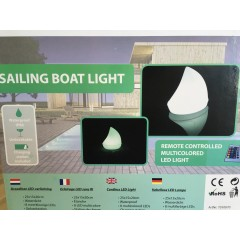 Sailing Boat Pool Light - 25 cm