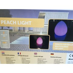 Peach Pool Light - 32 cm