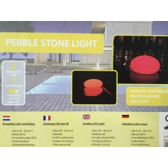 Pebble Stone Pool Light - 40 cm
