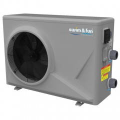 SWIM & FUN Pool & Spa inverter varmepumpe 9kW