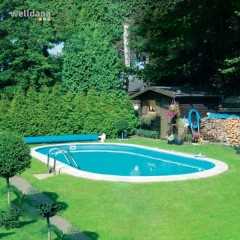Oval Pool Toscana 8 x 4.16 x 1.35 dyb 0.8mm liner